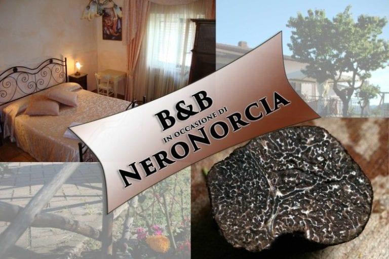Offerta soggiorno in B&B per NeroNorcia – marzo * Dormire a Norcia ...